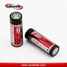 Top selling 3.7V 16500 rechargeable li ion battery 3.7v 1200mah