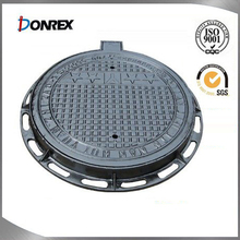 Plastic SMC composite manhole cover with frame
