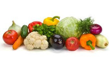 Fresh Fruits and Vegetables.