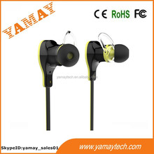 high quality sound made in china factory bluetooth in ear sport headset