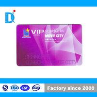 NFC Movie City Prepaid Membership Card, Frosted PVC Access Control Card, Membership Card