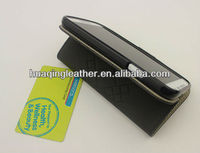 standing function easy make Smart case for SamSung galaxy s4 with PU leather