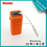 2014 newest designed top sales AA batteries mobile power bank for handphone