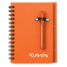 mini spiral notebook with custom LOGO and sticky note for school
