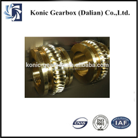 Spiral transmission electric grinding worm gear slew drives