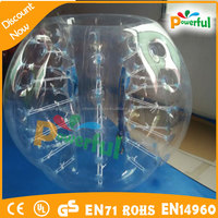 Fashionable sports human inflatable bumper bubble ball/body zorb ball/bubble ball for sale