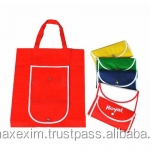 recycle foldable type non woven tote bag