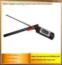 probe Kitchen BBQ Digital cooking food meat thermometers with protecive sleeve