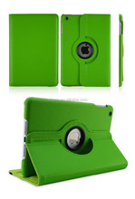 Factory price hot sales For ipad mini 3 pu leather case 360 degree rotating function suitable for ipad mini 3