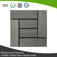 Indoor and Outdoor Used Recyceled Plastic Wood Flooring