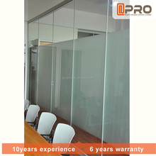Glass office walls furniture office acrylic office partitions new product in china