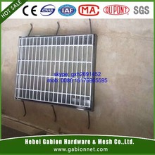 Hot dipped galvanized grating for drain trench cover