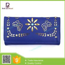China supplier manufacture rich for design lady leather wallet bag