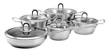 Sa-12029 ollas de cocina cocina de la inducción 18/8 304 de acero inoxidable utensilios de cocina