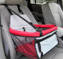 Pet car seat/pet booster seat/pet car seat carrier bag lookout collapsible