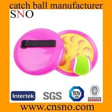 SNO PP beach velcro catch ball game catch ball velcro ball