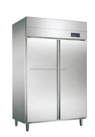 1000L Foshan standing cold fridge cooler with wheels