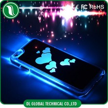 Call Incoming Flash LED Mobile Phone Cover for iphone 6 Case with Battery Chip and Insiviable Swift