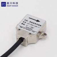 single axis small size digital tilt angle sensor 360 degree range vertical mounted