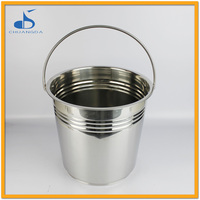 stainless steel empty beer wine barrel
