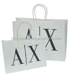 High quality recycle kraft paper bag