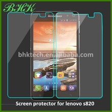 automatic adsorption liquid screen protector for lenovo s820 ,9H tempered glass screen protector