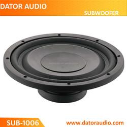 Subwoofer speaker High Power 10 inch slim subwoofer