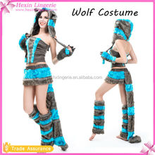 Paypal Accept Sexy Furry Wolf Adult Plush Animal Costume