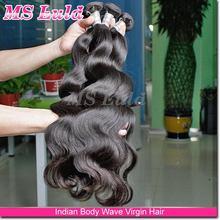 mslula hair 7a brazilian unprocessed virgin indian hair wholesale ,body wave wholesale virgin indian hair weaving