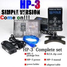 Digital Newest Tattoo Power Supply Hp-3,High Quality Hurricane Hp-3 Power Supply