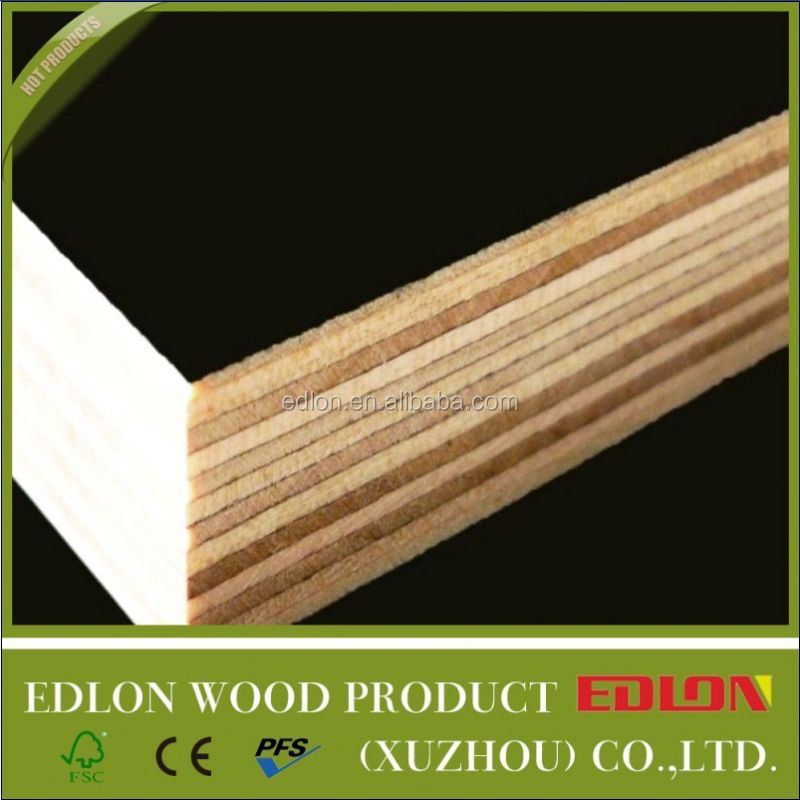 Cheap plywood shuttering boards laminated bamboo lumber for Cheap decking boards b q