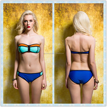 OEM service hot selling padded push up swimwear