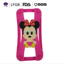 Factory sale universal silicone soft brand name phone case for mobile phone