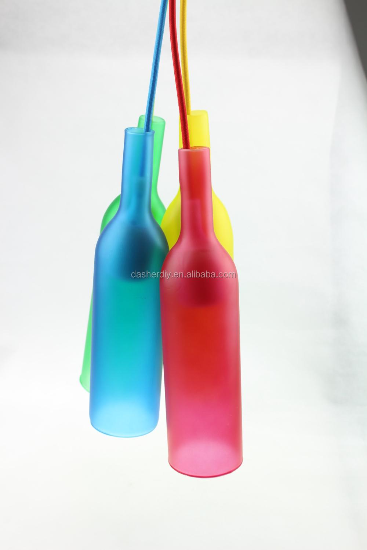 Lampade A Sospensione Filo Colorato: Portalampade colorate a sospensione g.