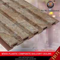 Hot Sale Manufacture Wood Plastic Composite Suspended Ceiling Parts