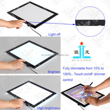 2015 Ultra slim A3 size Animation Tracing LED Drawing Board