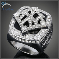 Latest design diamond ring, new design sports champion rings
