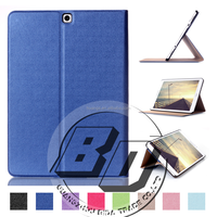 Newest Stylish flip folio PU leather stand flod wallet For Samsung Galaxy Tab S2 9.7 T815 Tablet case cover
