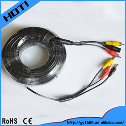Business for sale rca to dc cable for monitoring system 10M