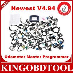 Full Software DHL Free Ship digiprog iii digiprog 3 odometer programmer with v4.94 version digiprog 3 of all adapter