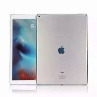 Clear Transparent Soft TPU Silicone Shockproof Back Case For Apple iPad Pro