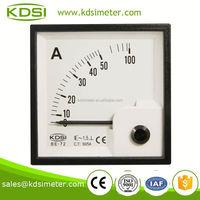 BE-72 72*72 AC Ammeter AC50/5A KDSI electronic apparatus analog panel meter