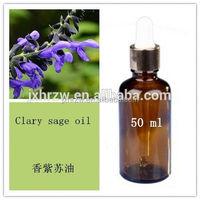 Hair care oil Natural Clary sage essential oil Moisturizing anti Wrinkle Hair care oil