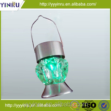 Made in China magic portable gem stone led light for cottage