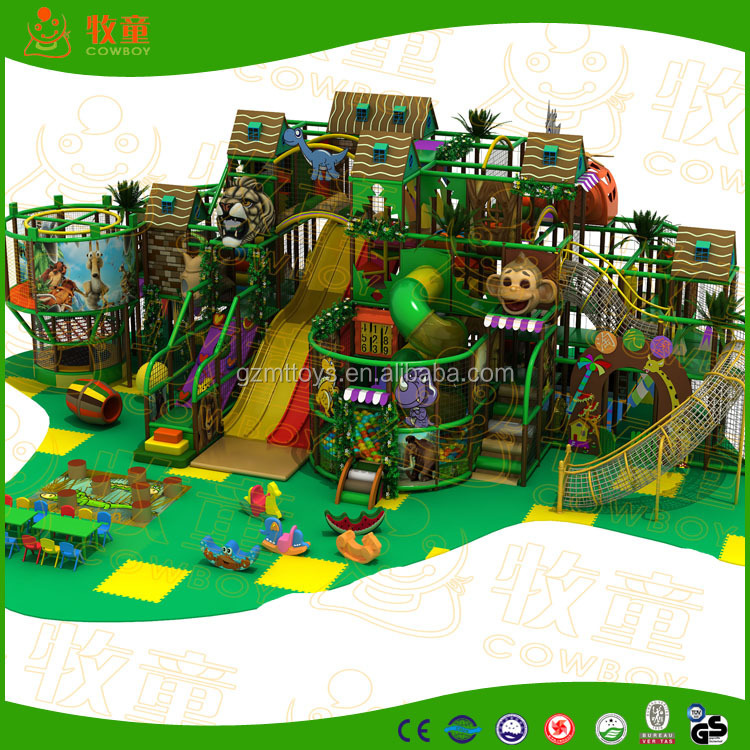 Newest Funny Kids Indoor Playground Equipment For Sale