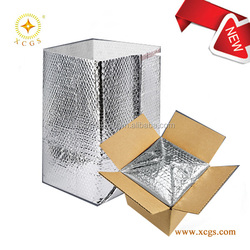 Box Liner Bags With Air Bubble and Aluminum Foil Material