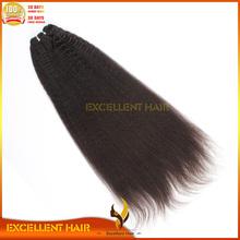 dark chocolate color virgin brazilian human afro kinky straight weaveing hair