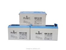 12V 100AH UPS battery/ sealed lead acid gel battery