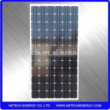 monocrystaline 12v 300w solar panel prices per watt from china pv supplier