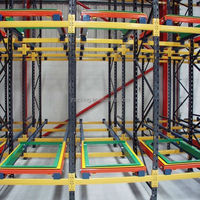 hot selling cold storage push back rack system,warehouse rack/storage rack/ push back rack